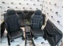 Interior piele neagra - sport - Audi A8 B9 8W