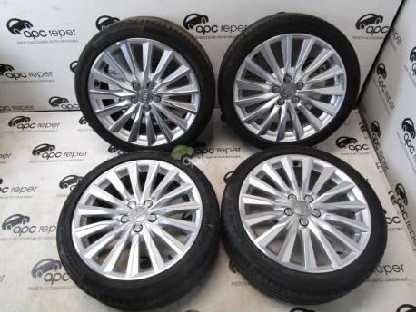 Audi Rims Set With Summer Tyres APC REPER - Audi rims