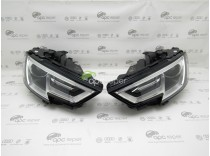 Set Faruri Complete Bi-Xenon LED Audi A3 8V Facelift - Model USA
