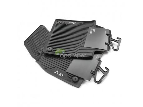 Set Presuri / Covorase Cauciuc Originale Audi A8 4N (Long) - (2018 - 2020)