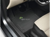 VW Jetta 5C - Covorase Originale Cauciuc negre (2011 - 2018)
